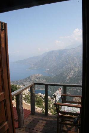 Yediburunlar Lighthouse: View from balcony Mermaids Dream suite