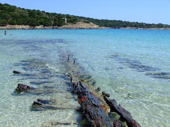 La Maddalena, Italien: Caprera - Spiaggia del Relitto