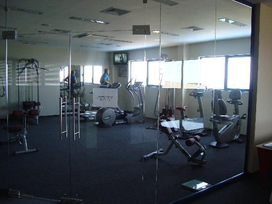 Grifid Hotel Arabella: gym is ace