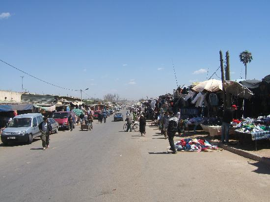Outdoor market in Inezgane