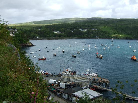 Portree harbour from south side