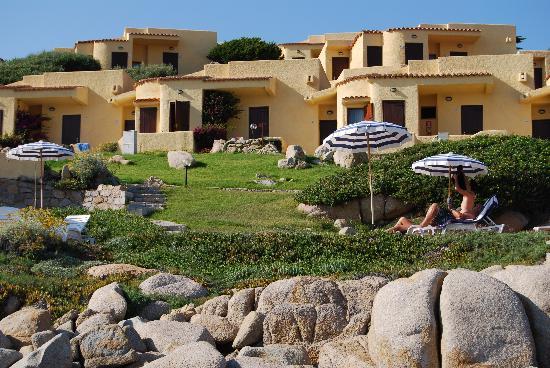 Club Esse Shardana : le camere tutte vista mare