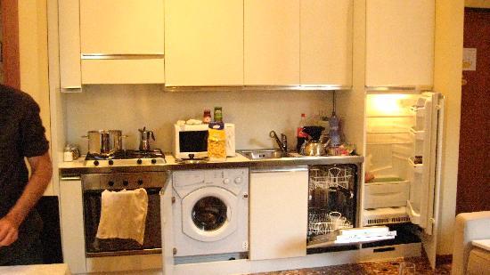 Residence Ca' Foscolo: électroménagers