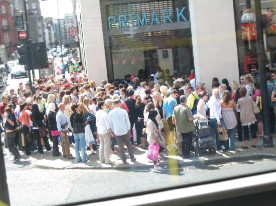 ไอบิส ลอนดอนซิตี้: primark oxford street