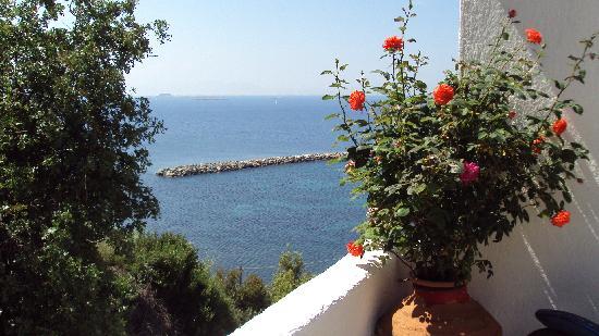 Glossa, Grecia: côte cour