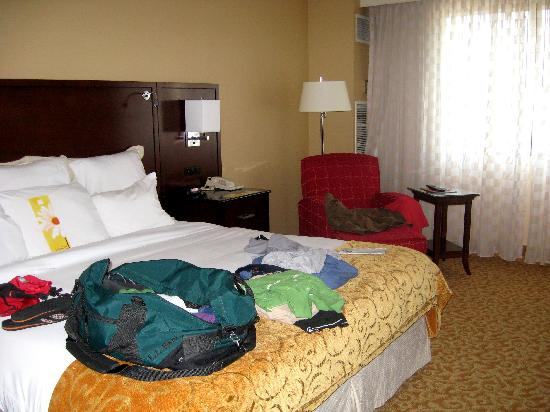 Chattanooga Marriott Downtown: nice comfy bed