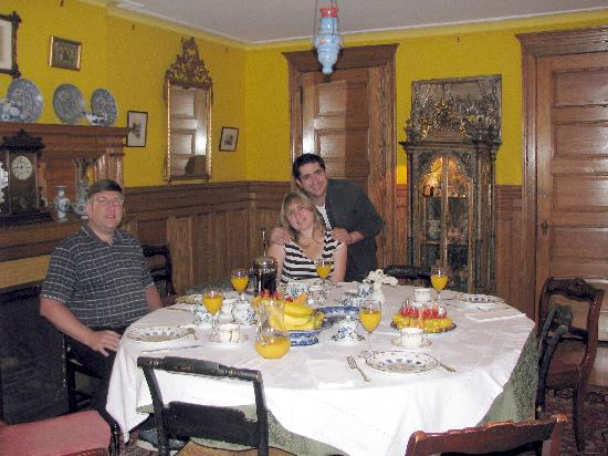 Mount Morris House: Our Sumptuous Breakfast