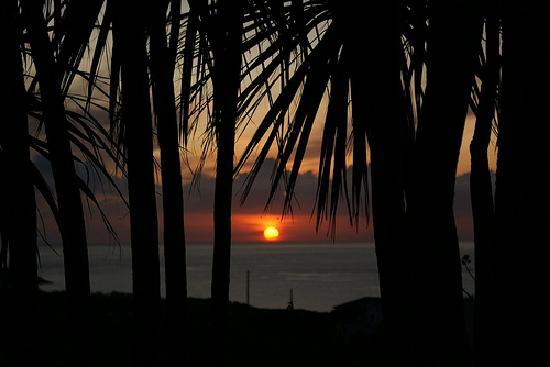 Fairbank Hotel: Sunset as seen from the garden