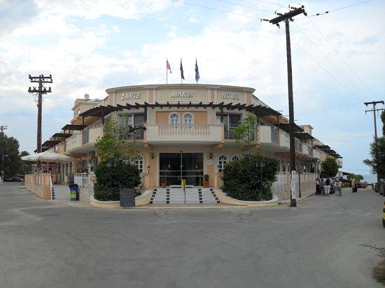 Zante Maris Hotel Front
