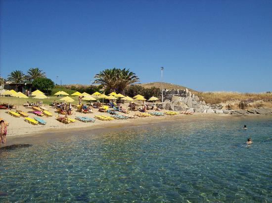 Porto Paros Hotel & Villas: Spiaggia