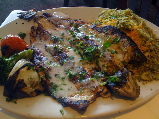 Canzaciti Roadhouse : Our other entree - fish never tasted so good!