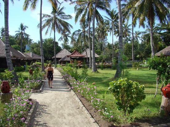 Villa Karang Hotel and Spa: Jardines