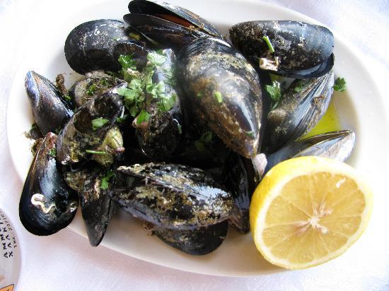 Agionissi Resort: Mussels