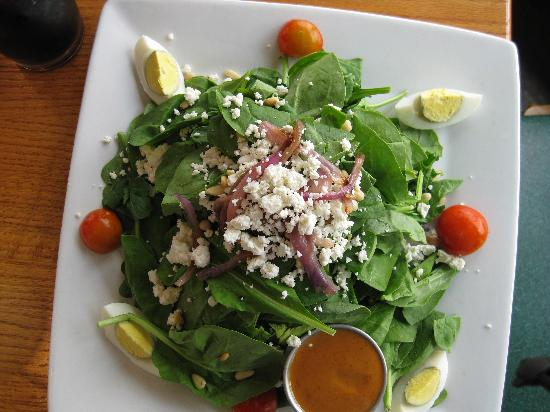 The Fish Whistle: Spinach and Arugala Salad