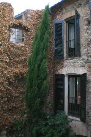 Hotel de La Font : Patio interior