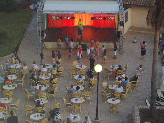 Iberostar Hotel & Resorts: vue de la scène depuis notre balcon.