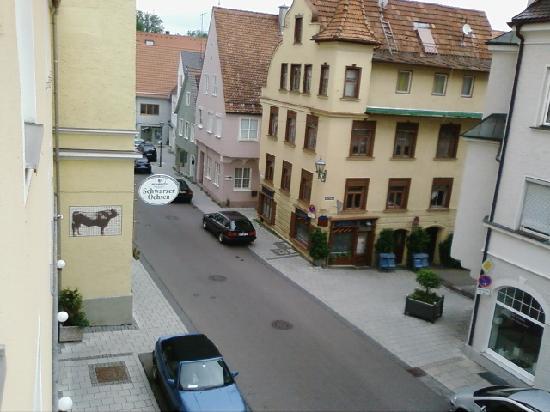 Drexel's Parkhotel Memmingen : View from room 1