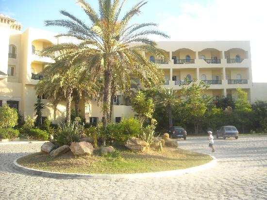 Hotel Almaz: Entrée