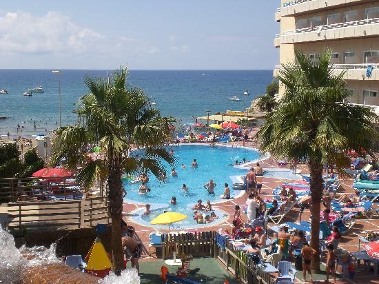 Cala Font Hotel: vistas a la playa