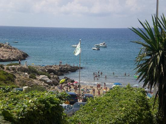 Cala Font Hotel: playa