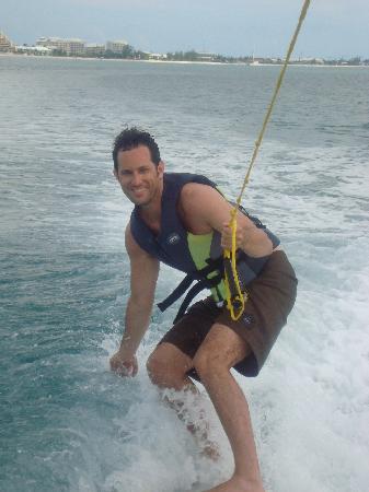 Turtle Sports Ltd: Enjoying some wakesurfing.