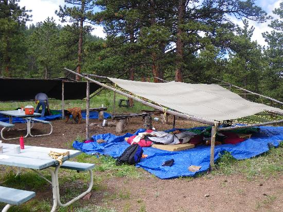 Cherokee Park Ranch: camp out