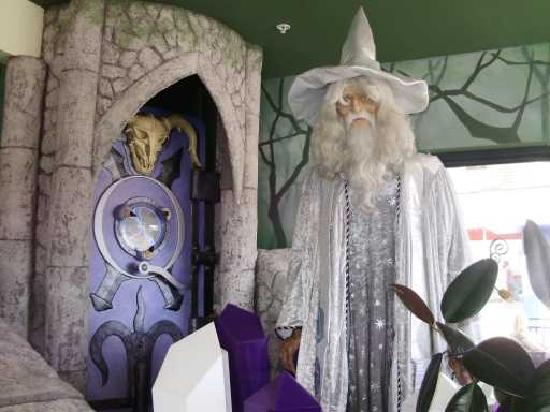 Wizard Quest: Wizard in que area