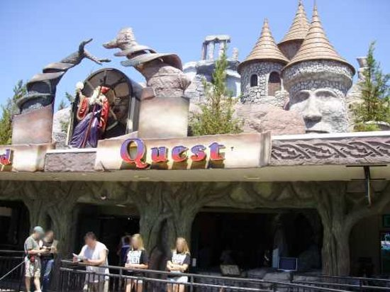 Wizard Quest: Exterior of Wizard's Quest