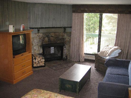 Douglas Fir Resort & Chalets: Room-living