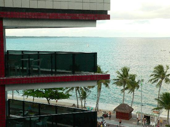 Maceio Mar Hotel: Balconies
