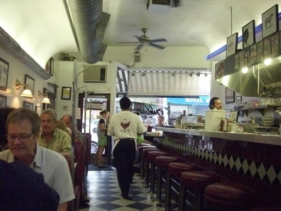 Bubba's Diner: Inside of restaurant