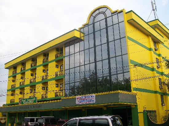 Hotel Consuelo: the building of the hotel