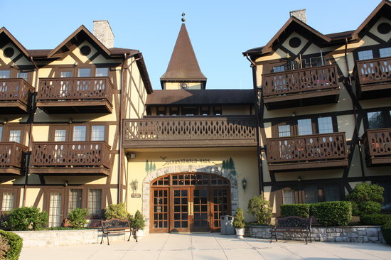 Shepherdstown, Западная Вирджиния: Building where we stayed