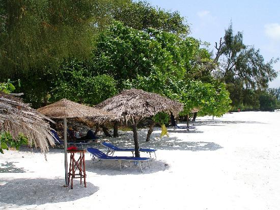 The Manta Resort: beach
