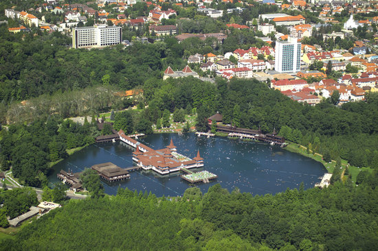 Thermal Lake of Hévíz: Hévíz, lake