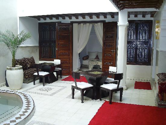 Riad Argan : Le patio