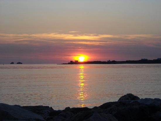 Hotel Paros is on the western side of the island, which means incredible sunsets for its guests!