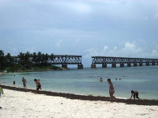 Bahia Honda State Park And Beach Bayside Overlooking Old Bridge