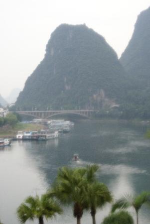 Green Lotus Hotel: angel mountains