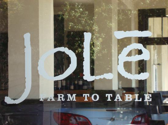 Silver Rose Inn Spa & Winery Resort: Jole, Restaurant in Calistoga!  A Must!