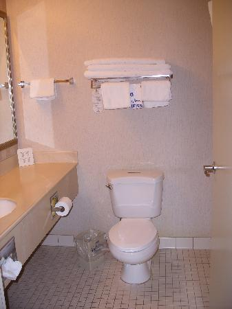 Holiday Inn Express Grants Pass: Bathroom