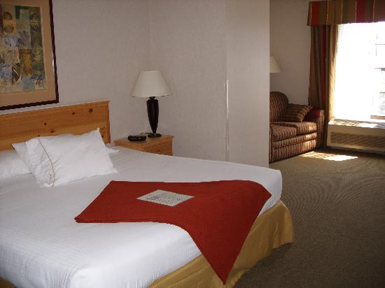 Holiday Inn Express Grants Pass: Bedroom