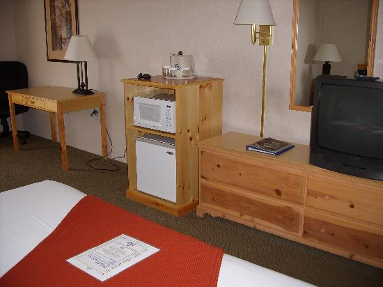 Holiday Inn Express Grants Pass: TV and Fridge