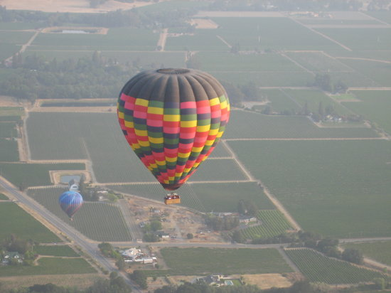 Ballooning over Yountville,CA