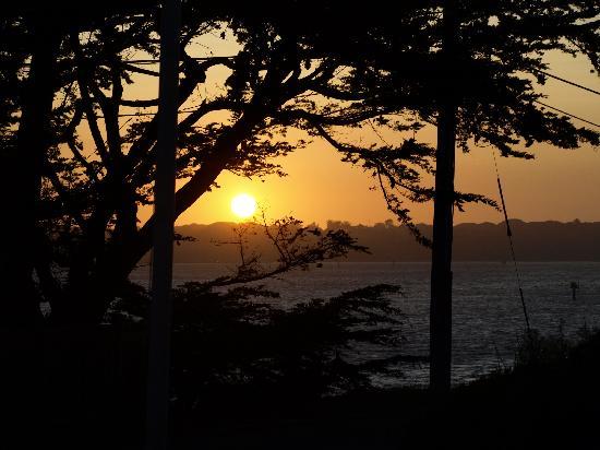Bodega Coast Inn & Suites: Post card sunset veiw from our room