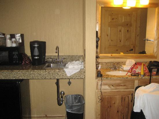 Part Of Our Hotel Room Picture Of Glacier Canyon Lodge
