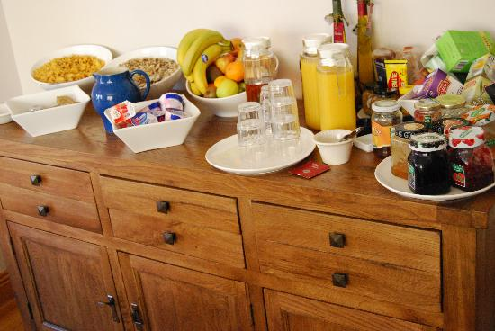 Oranhill Lodge: Buffet
