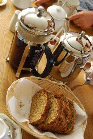 Oranhill Lodge: La torta di Ann
