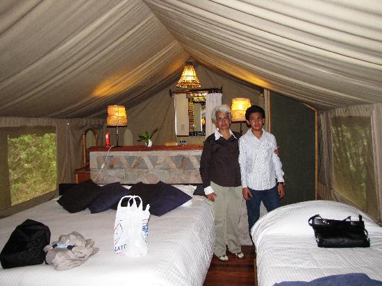 Sarova Mara Game Camp: the triple room