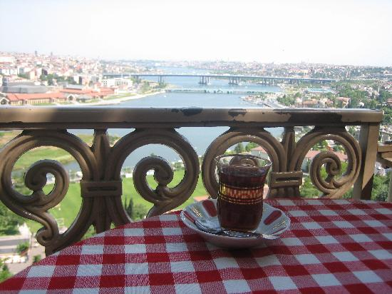 Istanbul, Tyrkia: Café Pierre Loti